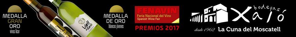 Bodegas Xaló vinos vins 2017