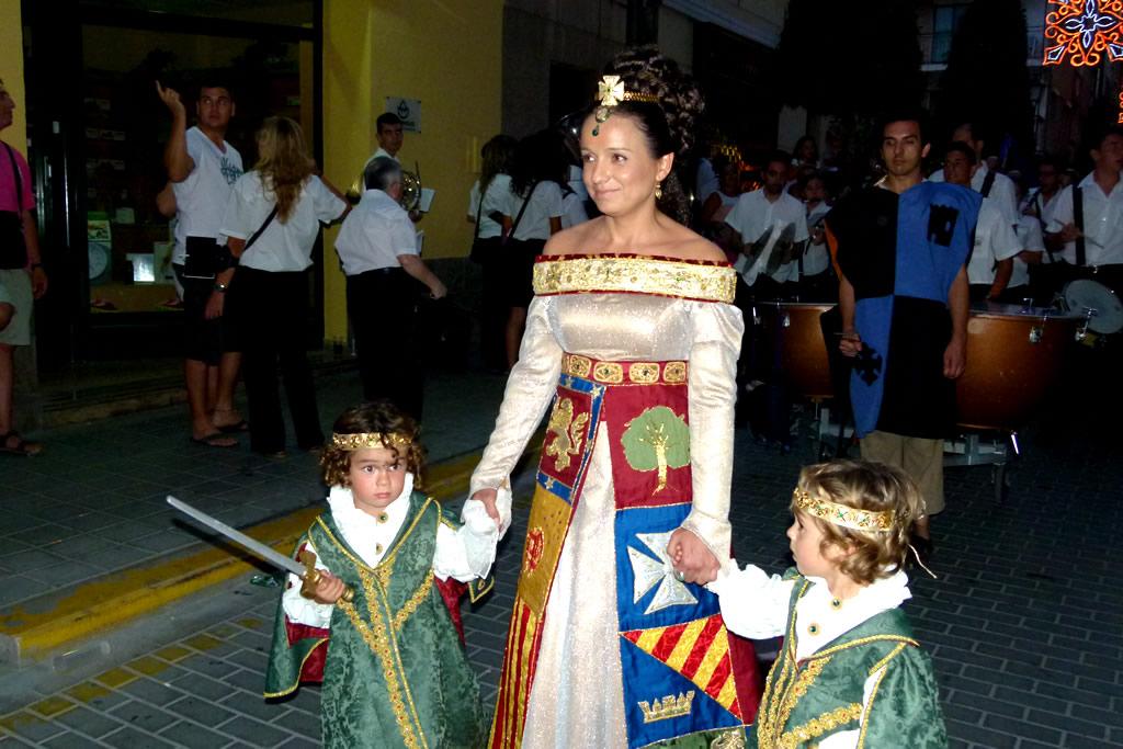 La música marca el inicio de las Fiestas de Moros y Cristianos de La Vila