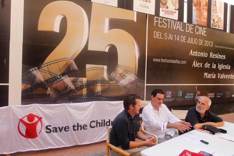 'Save the children' se convierte en la protagonista del cine más solidario del Festival de L'Alfàs