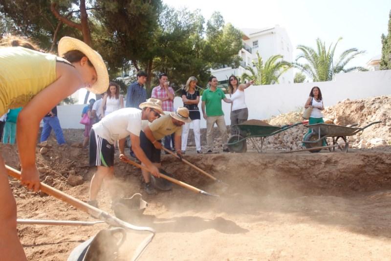 En busca de los muros de la casa romana de Voconia Domitilia
