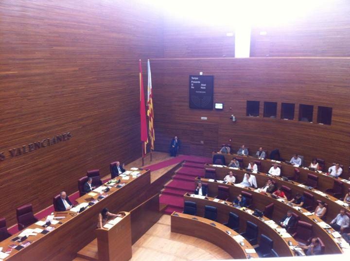 El presidente de les Corts retrasa la votación sobre la sanidad de la Marina Alta al ver que el PP iba a perderla porque faltaban diputados