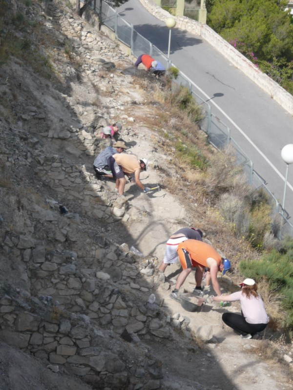 Comienzas las excavaciones para sacar a la luz la muralla de El Tossal