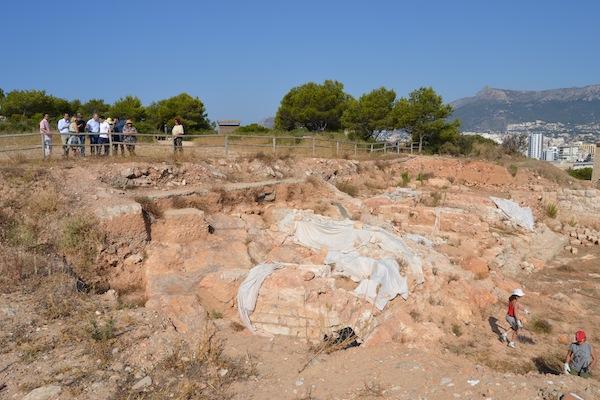 Alumnos de 17 universidades europeas excavarán este verano la Pobla d'Ifach