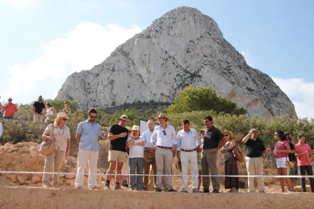 Los restos arqueológicos de la Pobla d'Ifac vuelven a Calp