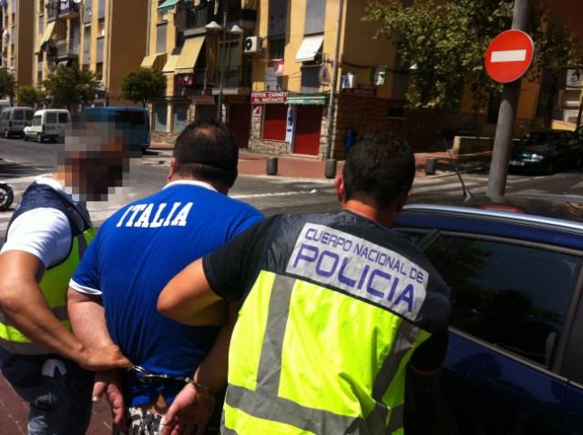 Detenido un peligroso delincuente sobre el que pesaban cinco órdenes europeas de busca y captura