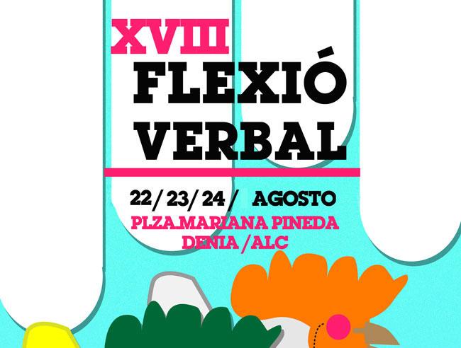 XVIII Flexió Verbal: la fiesta de la cultura regresa a Dénia