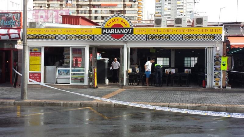 El peque o incendio en una freidora del restaurante mariano s obliga a desalojarlo sin causar - Restaurante el puerto benidorm ...