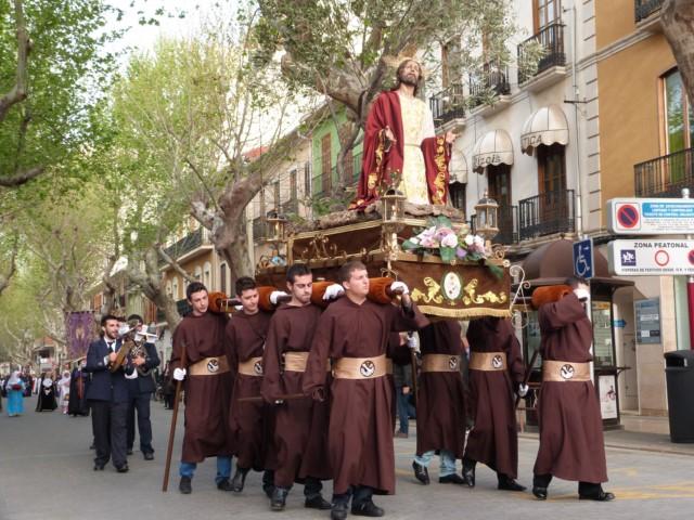 Dénia, capital valenciana de la Semana Santa