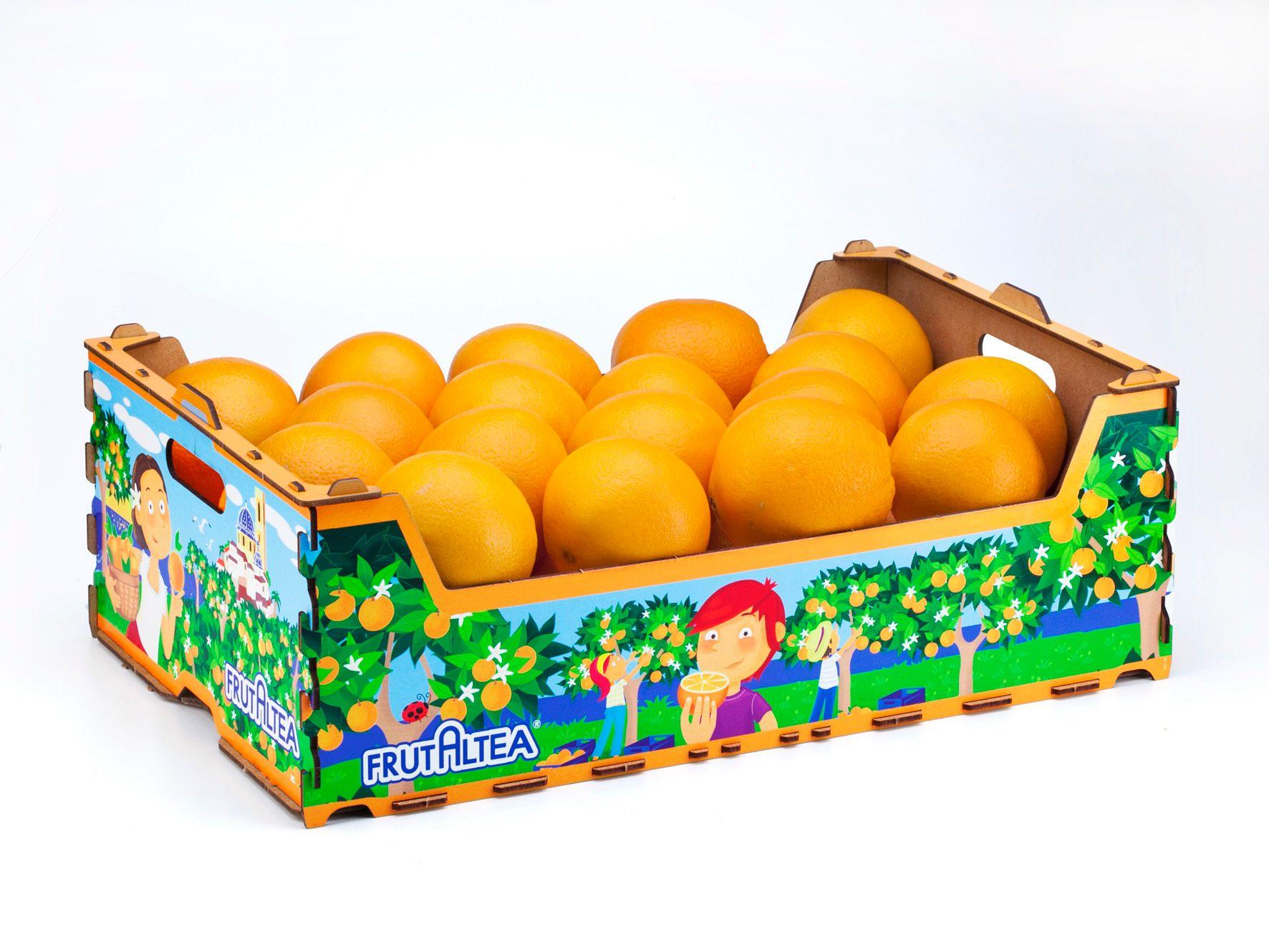 La confusión sexual de las naranjas cultivadas con residuo cero