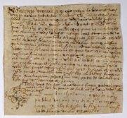 recibo de lo que pagaba el abogado Pere Benavent en 1548 a La Vila