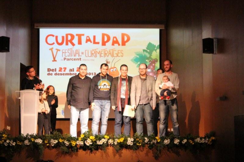 «Hidròlisi», «Cuando todo pase», «Democracia» i «Fallas 37», premiats al Curt al Pap de Parcent