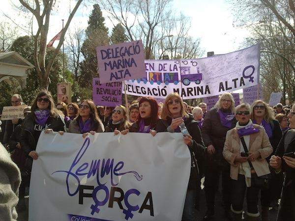 El tren de la llibertat: crònica de la Marina Alta a Madrid