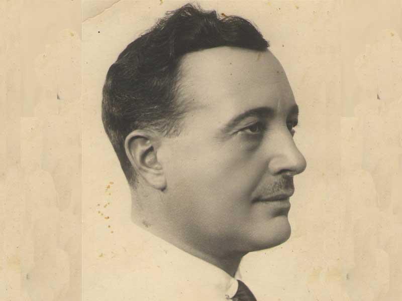 Personatges de Pego XIII: Antonio Lloret Sarlanga. Monsieur Antoine, modisto parisien de Madrid