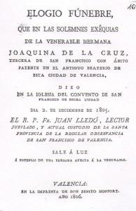 Elogio fúnebre, 1806