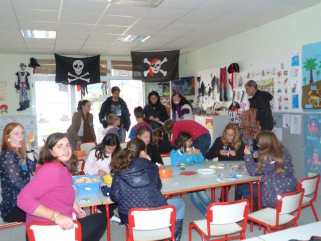 El colegio Sant Antoni celebra los 350 años de la llegada de los franciscanos con una jornada de puertas abiertas repleta de actividades
