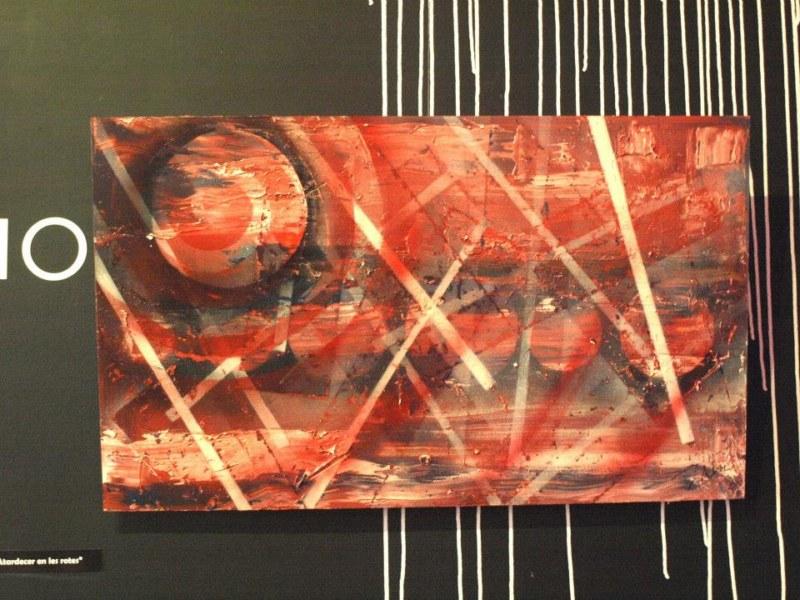 """El artista Javier Ruiz """"Txin"""" presenta su nueva obra, """"Coqueteando con sprays"""""""