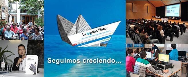 La Marina Plaza crece otro 65% en visitas en 2015 y refuerza su liderazgo en la prensa digital comarcal