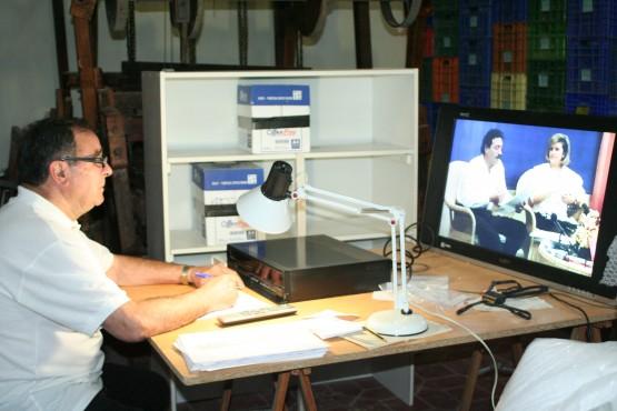 La Vila desempolva la colección de vídeos de la antigua televisión local TeleVila