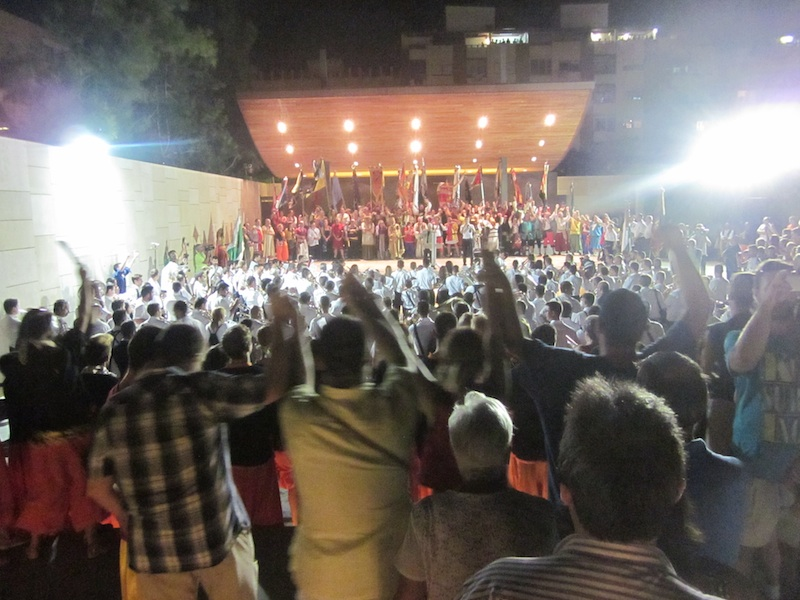 La música da el pistoletazo de salida a los Moros y Cristianos de La Vila