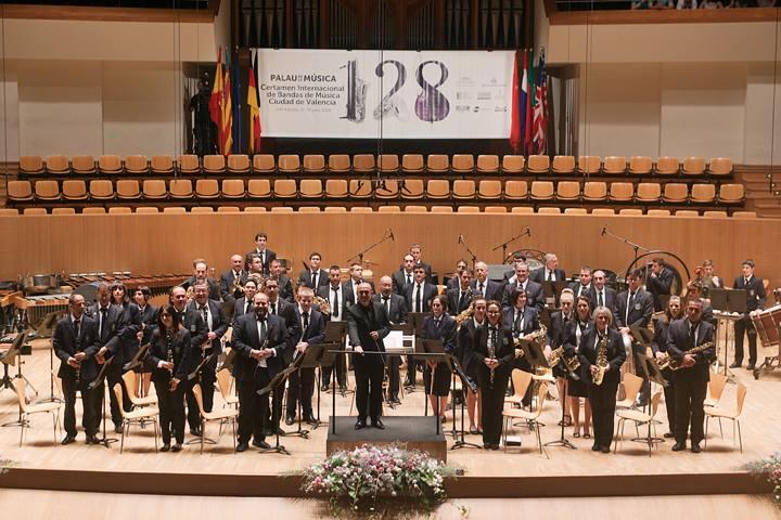 La U.M. Beniarbeig gana el Certamen Internacional de Bandas de Valencia en su primera participación