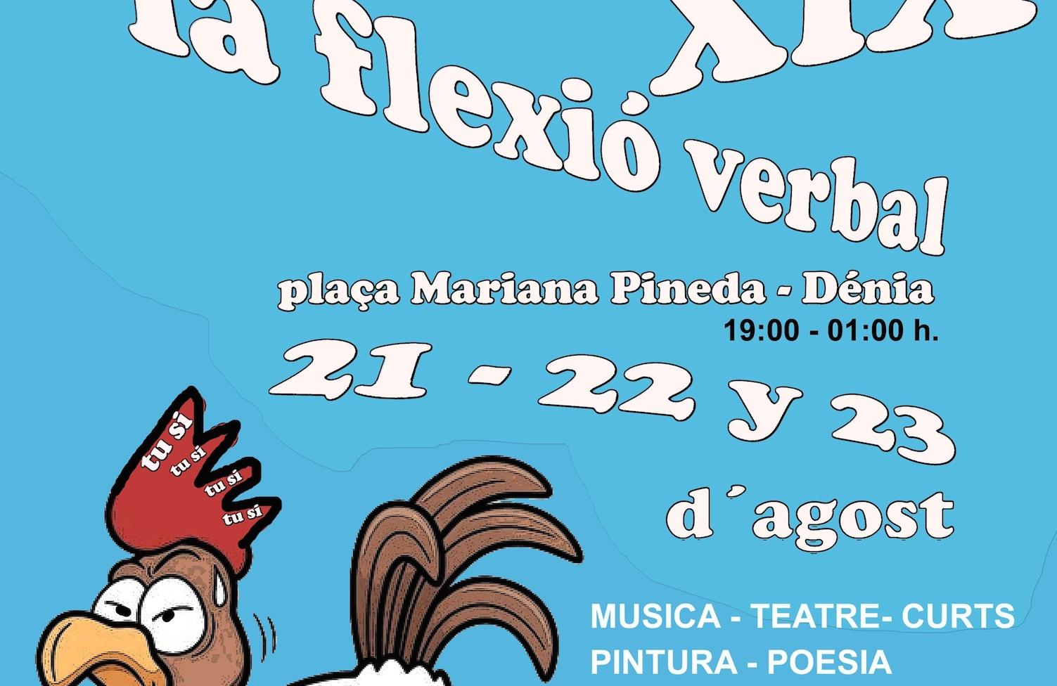 La Flexió Verbal 2014 ya perfila su cartel de teatro, magia, música, poesía y cine