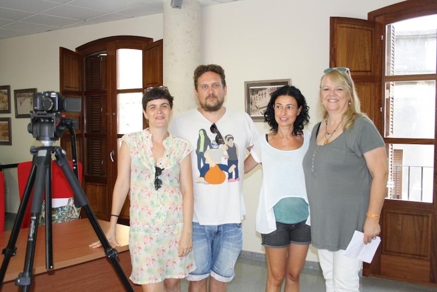 La Marina Alta se convierte en el plató de Wintersun, la primera web serie rodada y producida en la comarca