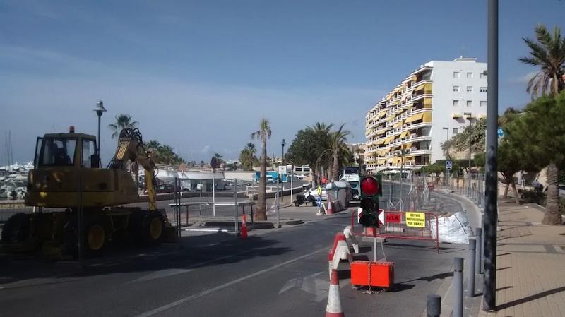 Hidraqua inicia las obras de la nueva red de alcantarillado del puerto
