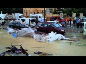 El Ayuntamiento pacta pagarle 30.000 euros al herido en la riada de La Cala para extinguir su posible responsabilidad civil