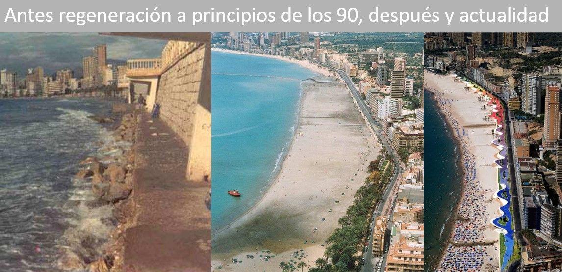 ¿Ha ganado el mar terreno a la arena en la playa de Poniente?