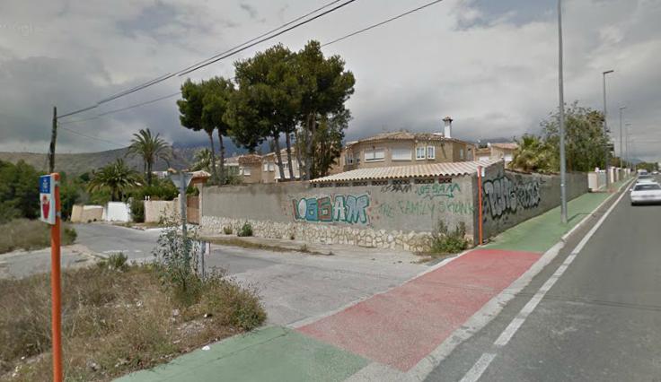Benidorm reurbanizará El Planet aprovechando la construcción de una residencia privada en la zona
