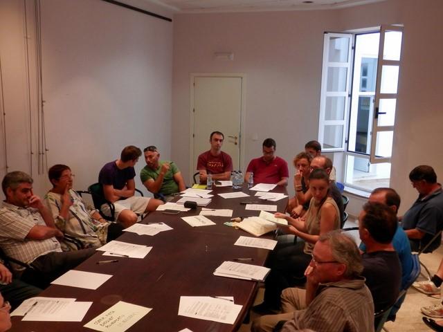 Una reunió del procés de pressupostos participatius de l'any passat a Pedreguer.
