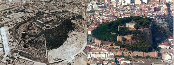 Dénia talará al menos 188 pinos en el Castillo para preservar las murallas y mejorar la visibilidad de la fortaleza