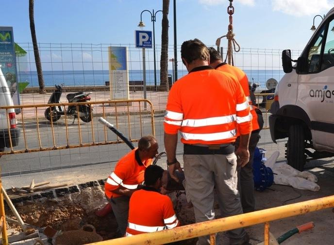 Xàbia reinicia las obras para reformar Jaume I