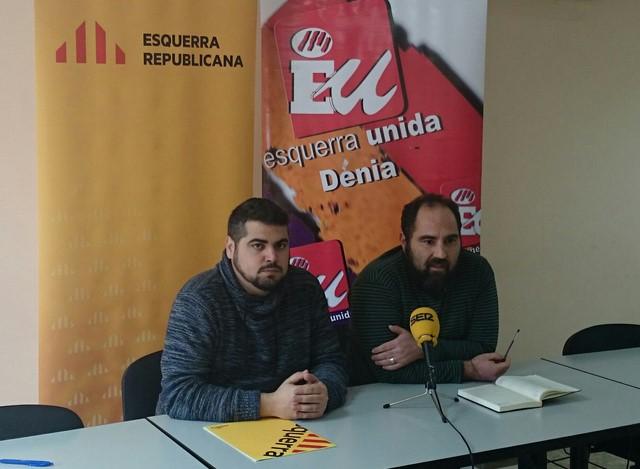 Dimite el coordinador comarcal de EU en la Marina Alta tras los malos resultados
