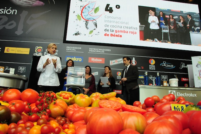 Dénia anuncia en Madrid Fusión los finalistas del concurso de cocina creativa de la gamba roja