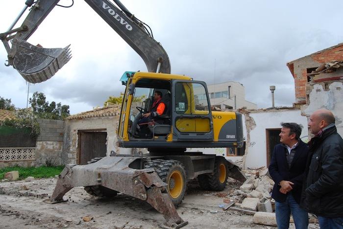 Villa Sarita, el chalet que impedía la nueva salida de Xàbia al mar, ya es historia