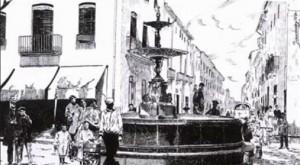 Fuente del Passeig de Germanies de Gandia