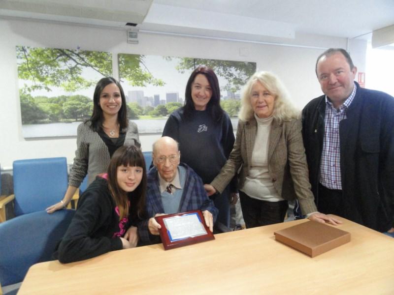 Karl Ivar Nordh, el nuciero más longevo, cumple 102 años