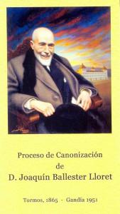 Proceso de beatificación de Joaquín Ballester