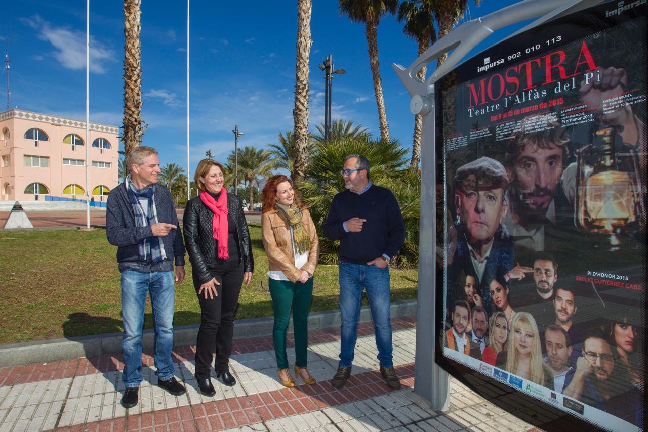 El 3D llega a la Mostra de Teatre de L'Alfàs que entregará el Pi d'Honor a Gutiérrez Caba