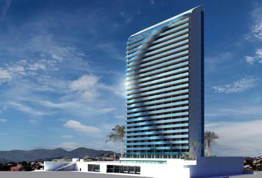 Calp otorga licencia al nuevo hotel de 30 pisos, que se convertirá en el edificio más alto del municipio