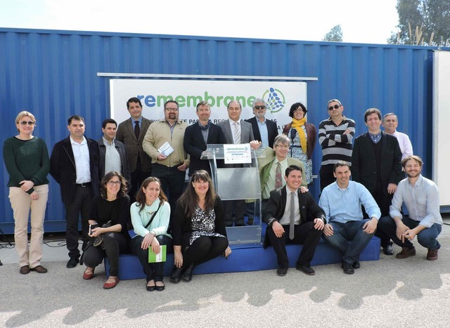 Un programa pionero de la UE permitirá ahorrar costes y reducir los residuos en la desalinizadora de Racons