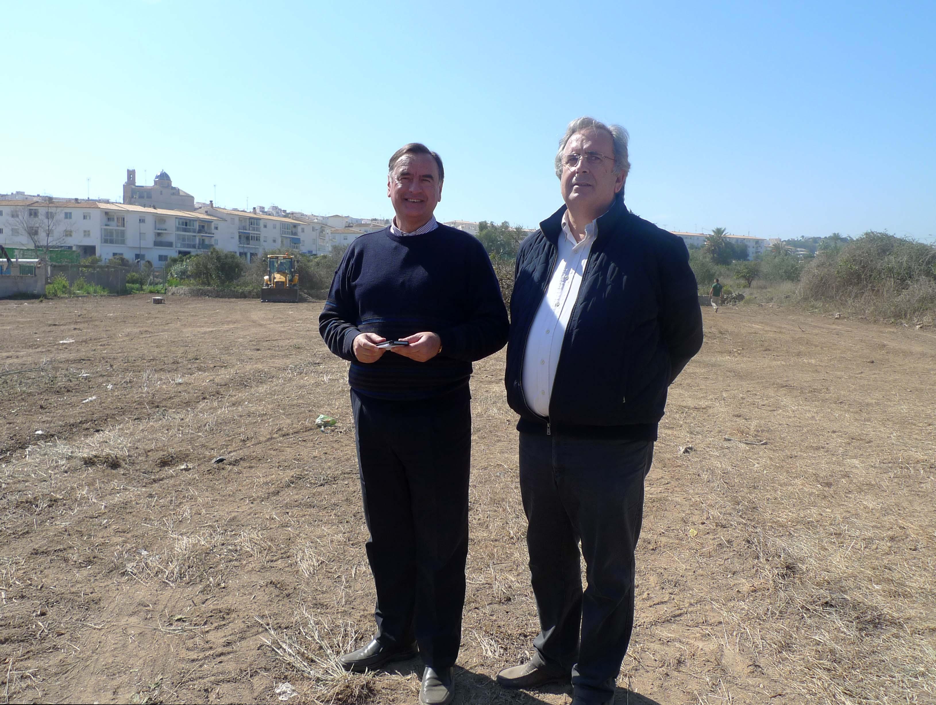 Altea creará 500 plazas de aparcamiento gratuito en la zona del camí de L'Algar