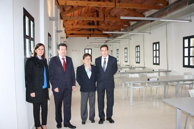 Desembarco del PP en Benissa para inaugurar una escuela empresarial que le ha costado al Consell 800.000 euros