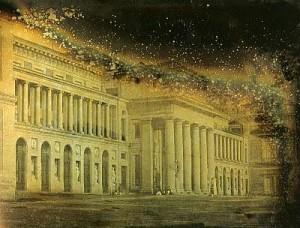 Daguerrotipo de José de Albiñana: Vista del Museo del Prado,  Patrimonio Nacional, Archivo General de Palacio, Madrid.