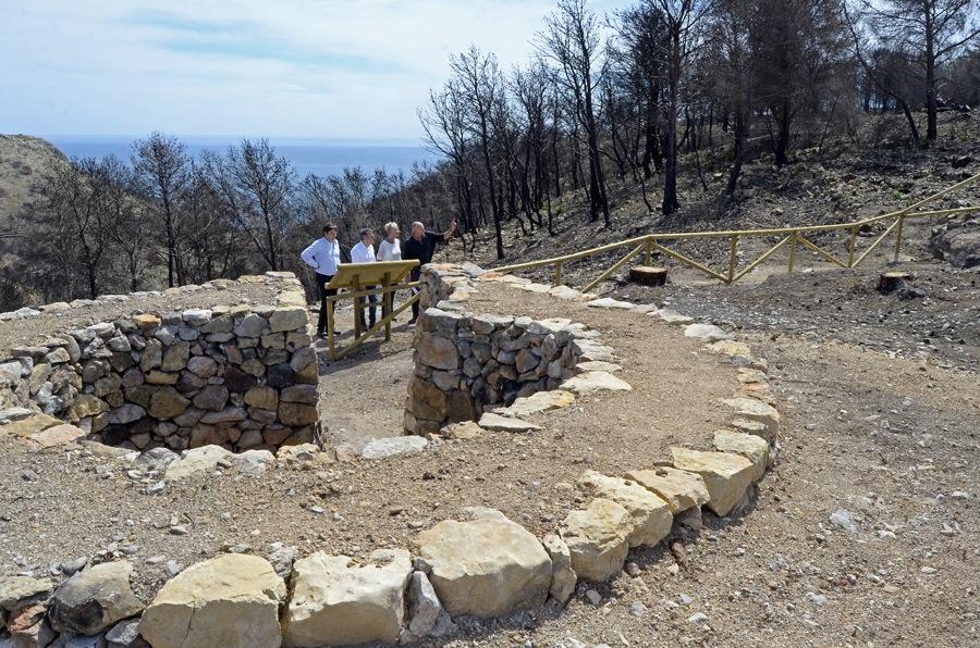 Xàbia concluye la regeneración en el Montgó para lograr un bosque «más seguro ante el fuego»