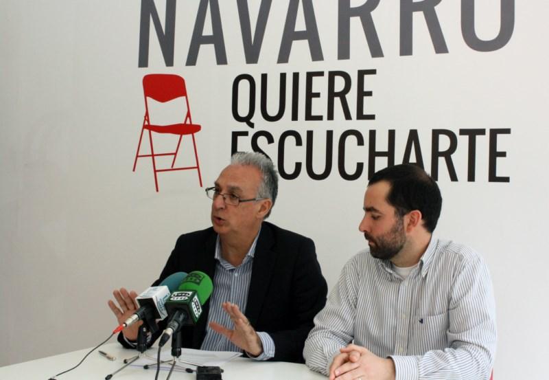 Navarro plantea un plan para rehabilitar edificios de más de 35 años con ayudas municipales