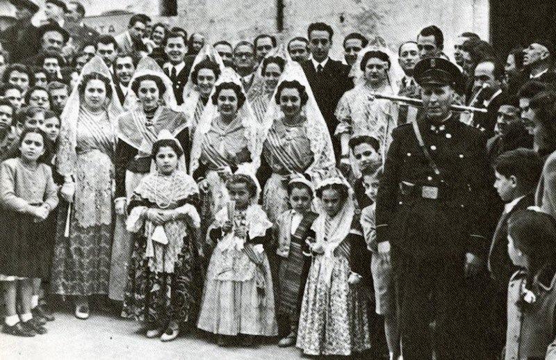 La vida cotidiana de Dénia entre 1940 y 1960
