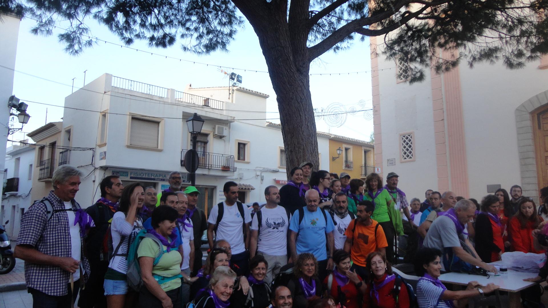 Más de 300 inscritos para el rescate del Camino de Santiago desde La Vila Joiosa