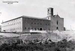 Convento Franciscanos de Pego 1910